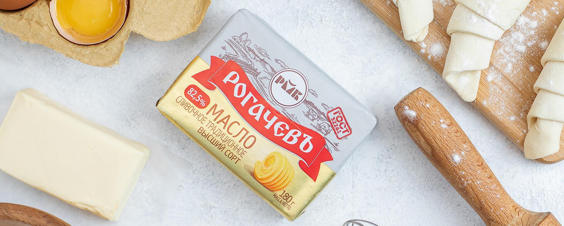 Масло сливочное Традиционное (82,5%)