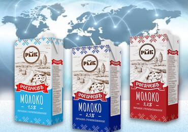 Молоко ОАО «Рогачевкий МКК» в Афганистане