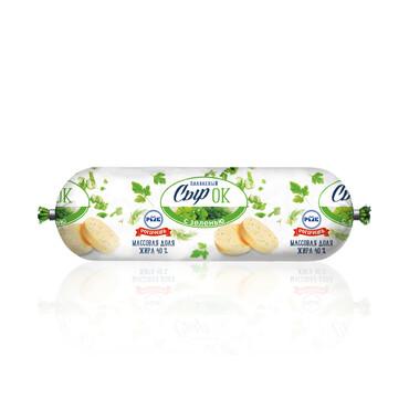 Сыр плавленый с зеленью