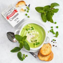 Зелёный суп - пюре